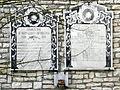 Memorial WWI plaques (Granzette, Rovigo).jpg