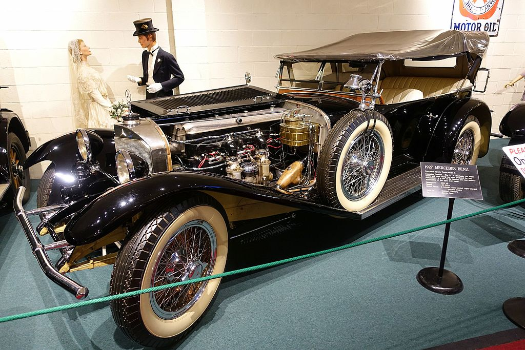 File Mercedes Benz Four Place Sports Tourer Model 1927