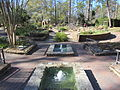 Mercer Arboretum, 2012, fountains.JPG