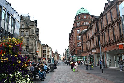 How to get to Argyle Street, Glasgow with public transport- About the place