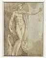 Mercurius staand in een nis met een viool en een ibis.jpeg
