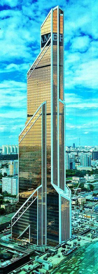 Mercury City Tower - Image: Mercury City Tower July