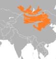 Meriones unguiculatus range map.png