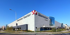 Mercator (retail) - Mercator Center in New Belgrade