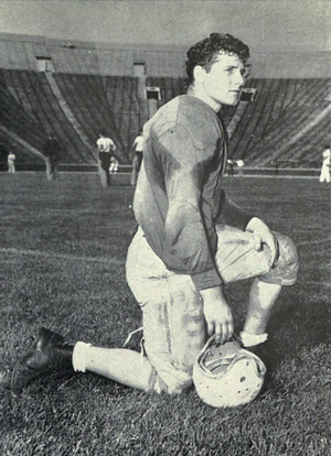 "1952 Michigan Wolverines football team - Merritt ""Tim"" Green, captain of the 1952 team"