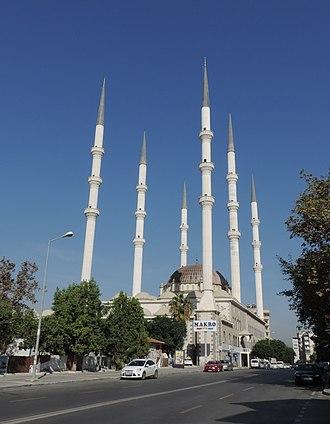 Muğdat Mosque - Image: Mersin Mugdat Mosque outside 2015 10 17