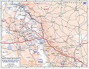 Meuse-Argonne Offensive - Map