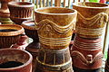 Mexican pottery at Anita's in Bothell, WA 03.jpg