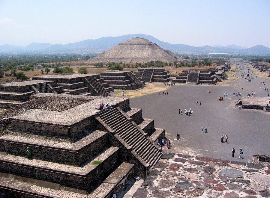 Mexico SunMoonPyramid