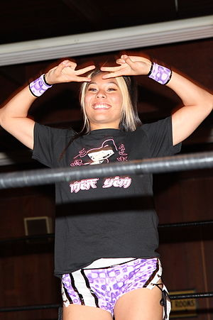 Jade (wrestler) - Yim in April 2013