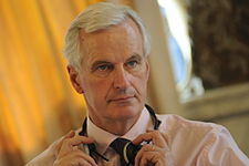 Michel Barnier at European People's Party summit, March 2010.jpg