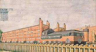 1917 in architecture - Het Schip design