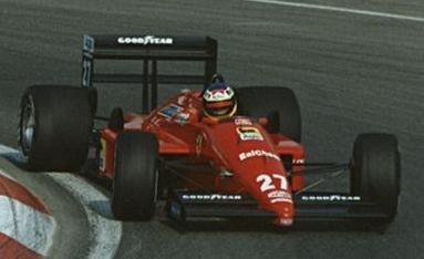 Michele Alboreto 1988 Canada