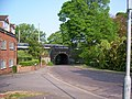 Midland Railwayline Bridge over Mile House Lane - geograph.org.uk - 419770.jpg