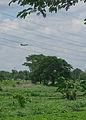 Mig 21 landing at Yangon airfield. (14974986498).jpg