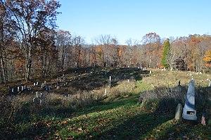 Greene Township, Beaver County, Pennsylvania - Mill Creek Presbyterian Church Cemetery, south of Hookstown