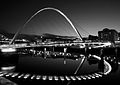 Millbridge Newcastle BW at night.jpg