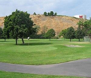 Milton-Freewater, Oregon - Golf course in Milton-Freewater