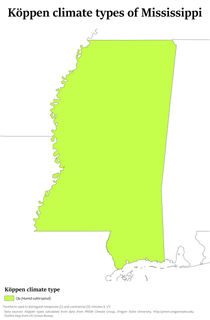 Climate change in Mississippi