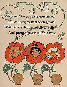 Mistress Mary, Quite Contrary 1 - WW Denslow - Project Gutenberg etext 18546.jpg