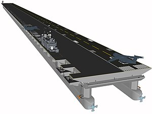 Mobile Offshore Base Super-carrier