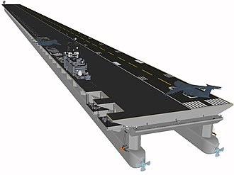 Mobile offshore base - Mobile Offshore Base Super-carrier