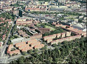 Vesterbro, Aarhus - Vesterbro, western parts