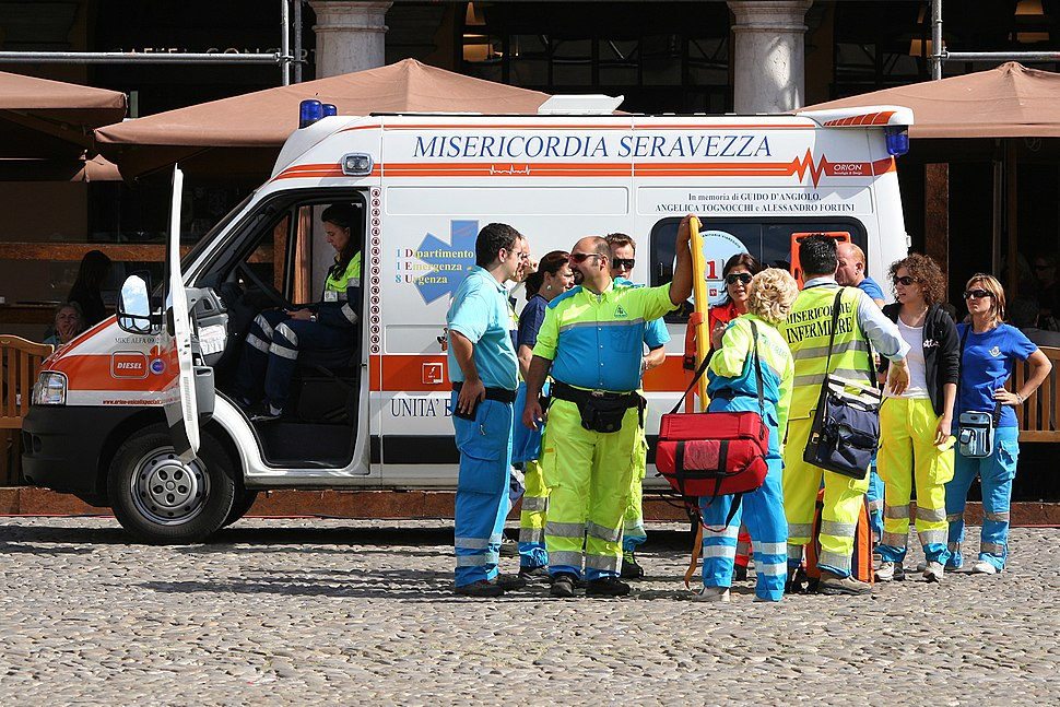 Modena ambulance