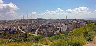 Town in Irbid, Jordan
