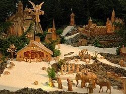 Mohelnice nativity scene