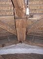 Molen Laurentia houten achtkant ondertafelement.jpg