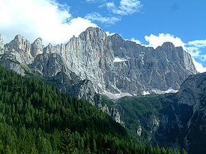 Monte Civetta - Image: Monte Civetta
