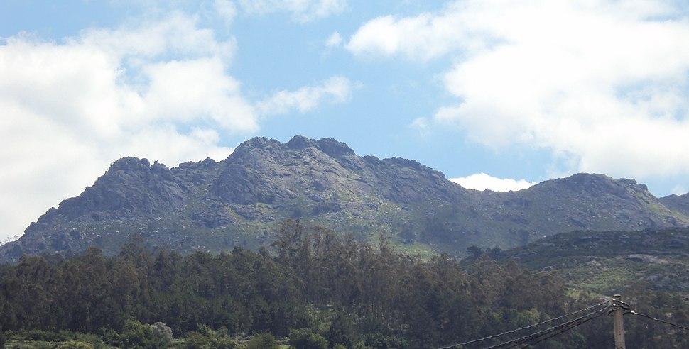 Monte Galiñeiro dende Vincios