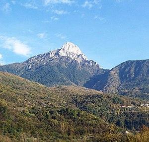 Pizzo Badile Camuno - Image: Monte Pizzo Badile Ceto (Foto Luca Giarelli)