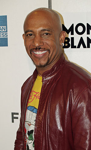 Montel Williams at the premiere of War, Inc. a...