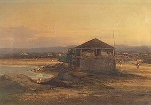 Carl von Perbandt - Image: Monterey Custom House by Carl von Perbandt