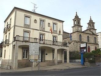 Monterroso - Image: Monterroso Concello Igrexa