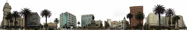 Montevideo Décembre 2007 - Plaza de Armas 2