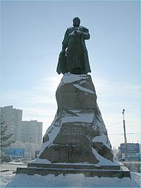 Monument to Yerofey Khabarov, Siberia and Amur pioneer.jpg