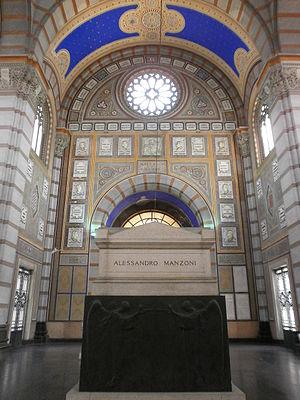 Cimitero Monumentale di Milano - Alessandro Manzoni's tomb