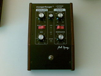 Moog Music - A Moogerfooger with low-pass filter functionality.