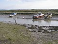 Moored boats on the Exbury River - geograph.org.uk - 178813.jpg