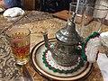 Moroccan mint tea at Alandalus, Tokyo.jpg