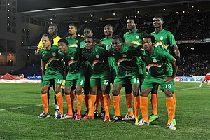 Niger national football team - Niger national team against Morocco, February 09, 2011