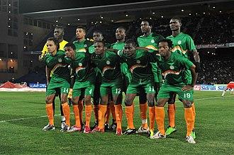 Niger national football team - Niger national team against Morocco, February 09, 2011