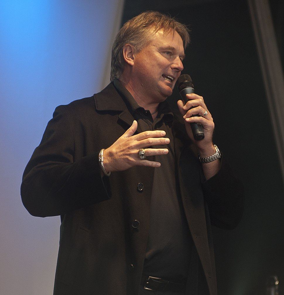 Morten Andersen at NFL Fan Rally