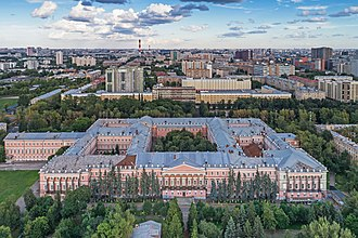 Malinovsky Military Armored Forces Academy - The Academy building was designed for Catherine the Great to serve as a royal palace