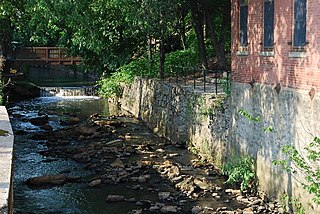 Blackstone Canal United States historic place