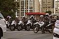 Motorcycle police cordon, Movimento Passe Livre São Paulo 2015.jpg
