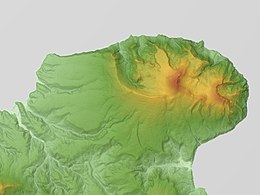 Mount Demon (Mount Kamuidake) Relief Map, SRTM-1.jpg